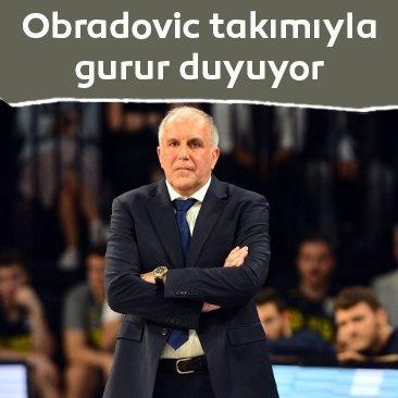 Zeljko Obradovic takımıyla gurur duyuyor: Savaşmaya devam edecekler