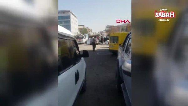 Ankara'da oksijen tüpleri füze gibi fırladı: 1 kişi yaralandı, 1 iş yeri hasar gördü | Video