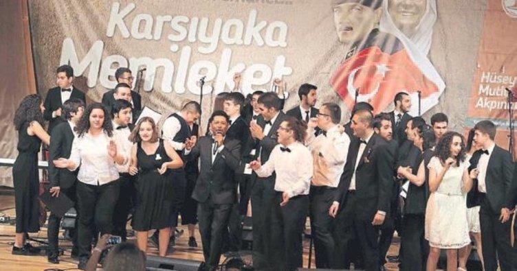 Otizm korosu İzmir'i büyüledi