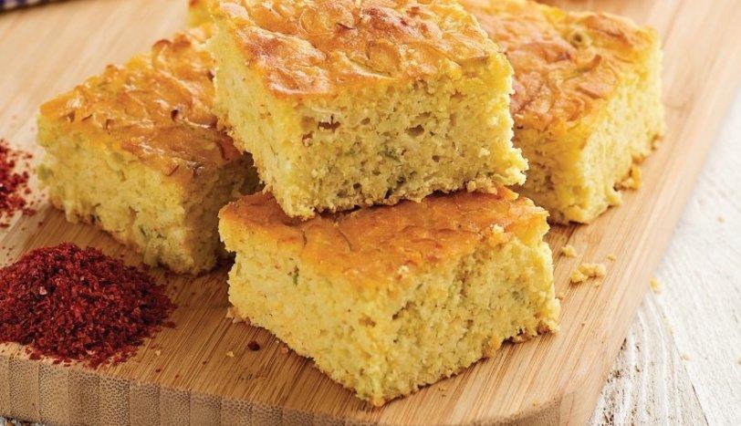 Pırasalı kek