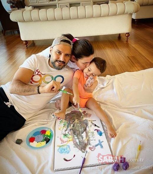 Buse Varol ile Alişan kızları Eliz kavuştu! Alişan sosyal medyadan kızı Eliz'e böyle seslendi!