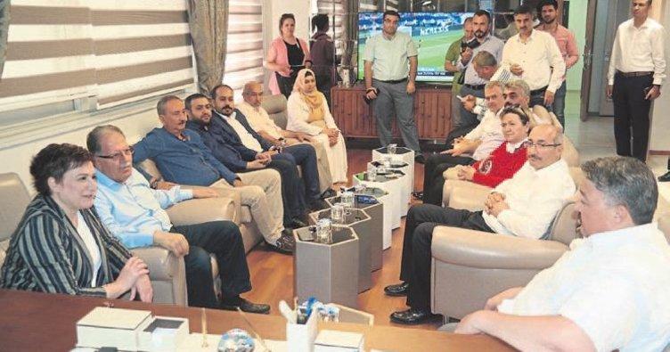 AK Partili Sarı'dan Boydak'a ziyaret