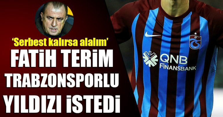 Galatasaray'da Fatih Terim'in sürpriz hedefi!