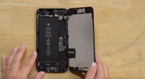iPhone'u böyle paramparça ettiler!
