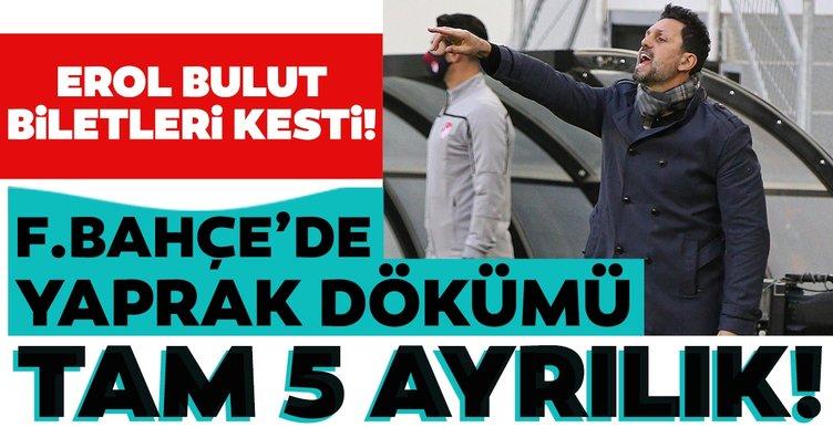 Son dakika: Fenerbahçe'de Mesut Özil sonrası yaprak dökümü! Erol Bulut biletleri kesti
