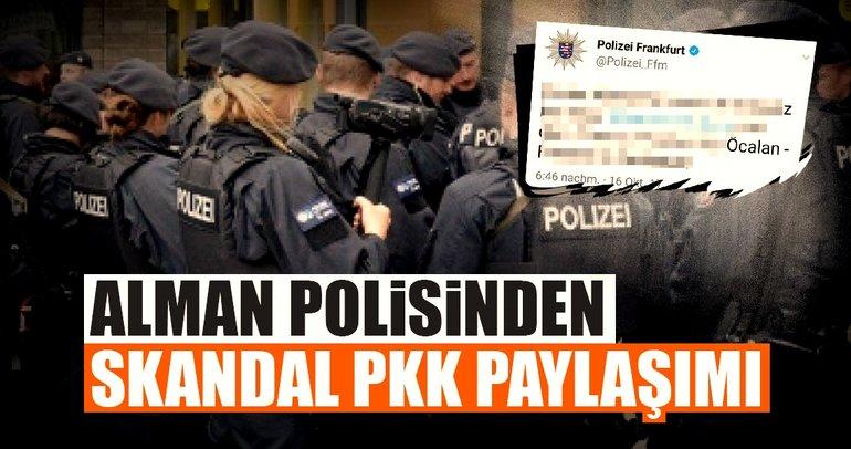 Alman polisinden skandal paylaşım!