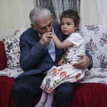 Başbakan Yıldırım, Yeşil ailesine iftara misafir oldu