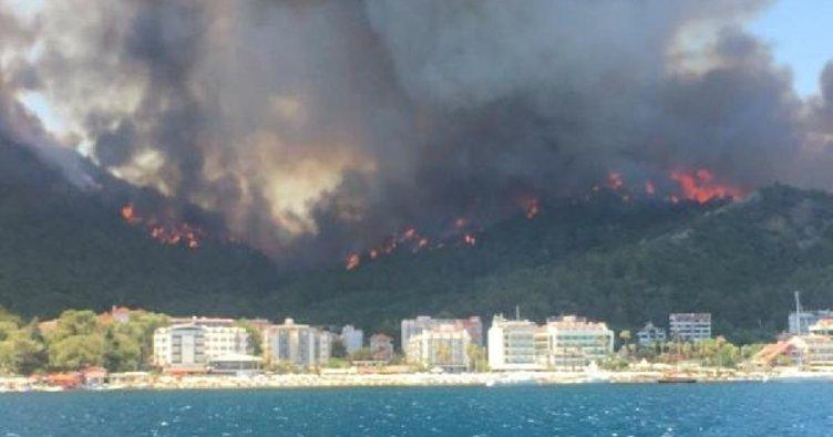Son Dakika Haberi: Bodrum'da alevler 5 yıldızlı oteli sardı! Vatandaşlar denizden tahliye edildi...