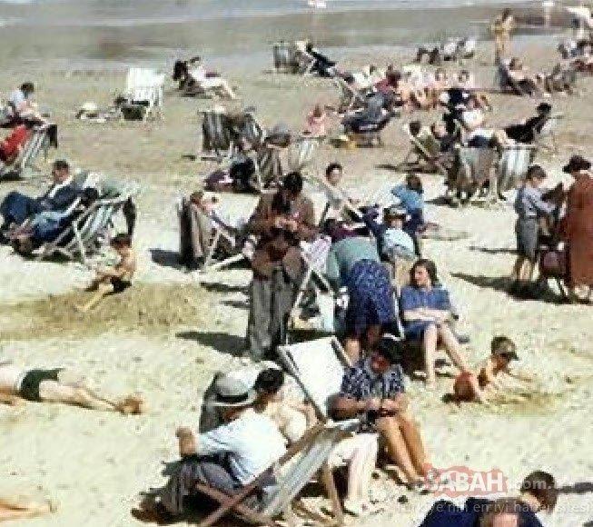 1943'te çekilen bu fotoğraf görenleri şaşkına çevirdi! Zaman yolcusu tartışmaları alevlendi