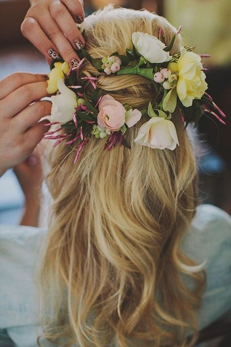 Gelinlerin saçı çiçek açacak!Gelinlerin saçı çiçek açacak!Gelinlerin saçı çiçek açacak!