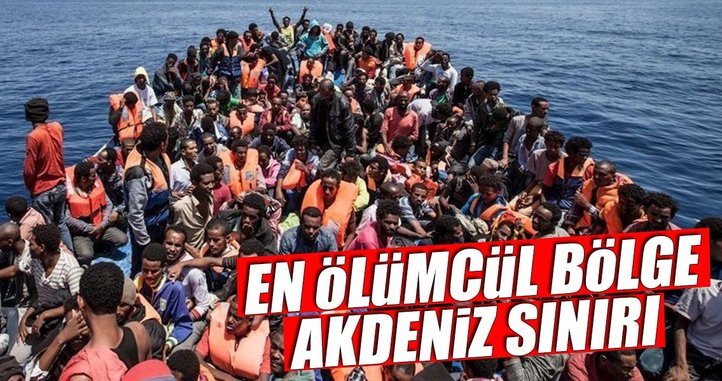 Sığınmacılar için Avrupa'nın Akdeniz sınırı en ölümcül bölge