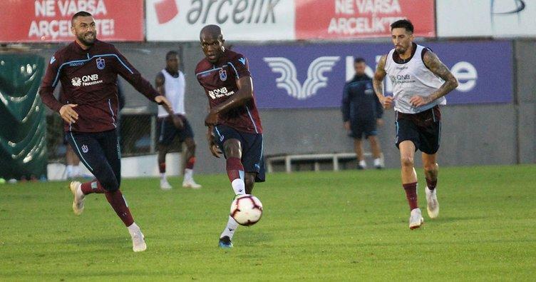 Trabzonspor'dan gol çalışması