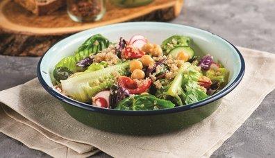Pratik tahıllı salata