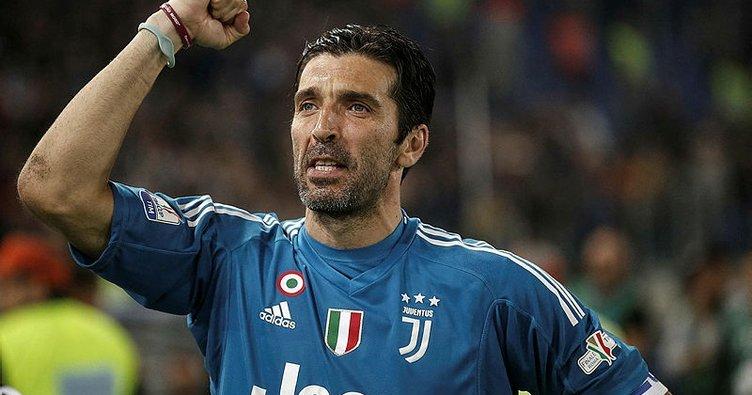 Buffon'dan Juventus'a veda