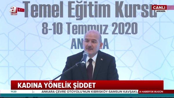 Son dakika: İçişleri BakanıSüleyman Soylu'dan çok çarpıcı sözler