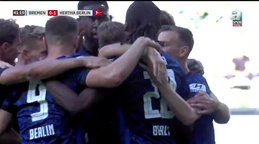 GOL | Werder Bremen 0-1 Hertha Berlin