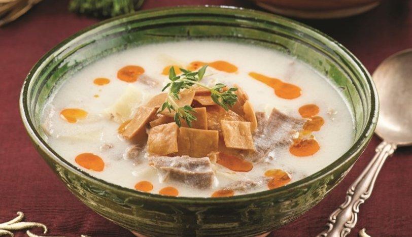 Etli kıtır çorbası