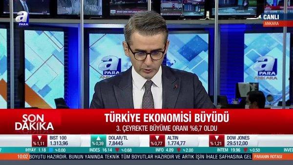 SON DAKİKA! Türkiye ekonomisi beklentilerin üzerinde büyüdü!