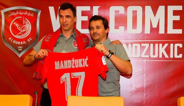 Fenerbahçe ve Galatasaray Mandzukic için karşı karşıya!