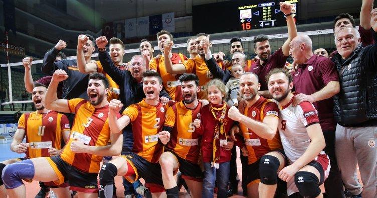 Galatasaray, CEV Kupası'nda finalde
