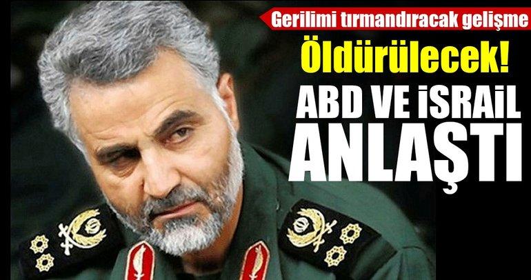 Son Dakika Haberi: ABD, İranlı General Kasım Süleymani'nin öldürülmesi için İsrail'e yeşil ışık yaktı!