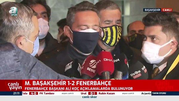 Ali Koç'tan hakem Ümit Öztürk'e sert eleştiri!