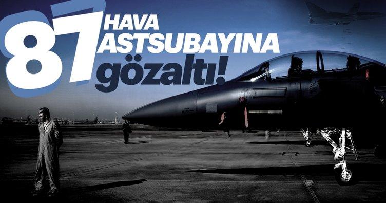 Hava Kuvvetleri Komutanlığı bünyesindeki 87 eski astsubay hakkında flaş karar