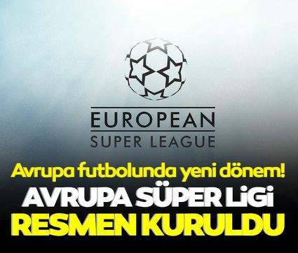 Son dakika: Avrupa futbolunda tarihi gece! Avrupa Süper Ligi resmen kuruldu...