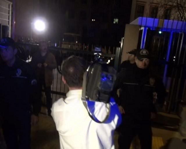 Adalet Bakanlığı'nın önünde patlama