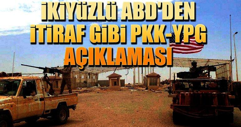 ABD'den PKK-YPG açıklaması