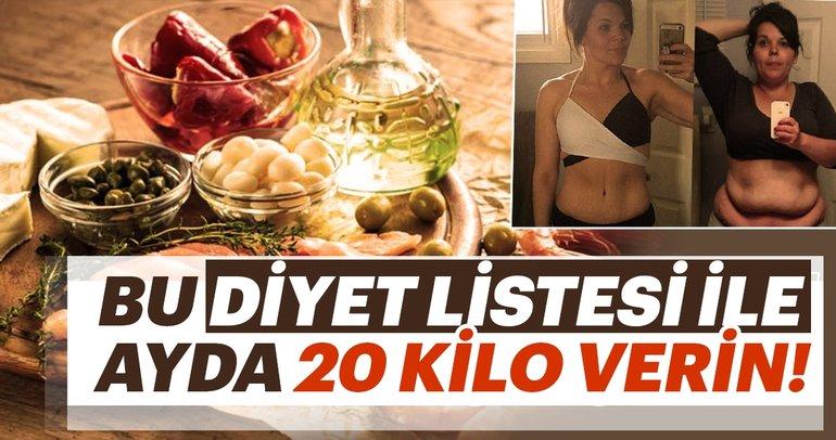 Bu diyet listesi ile ayda 20 kilo verebilirsiniz! İşte Dukan diyet listesi...