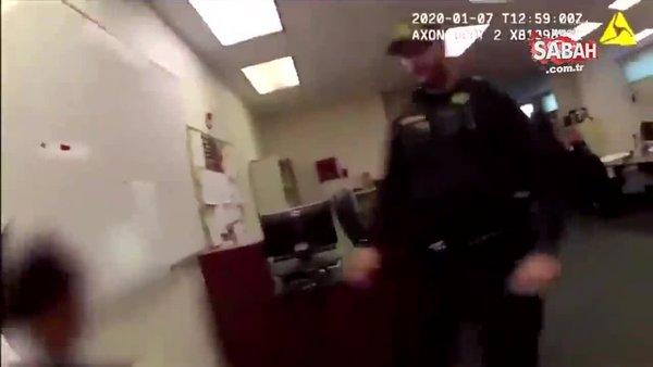 ABD'de gözaltına alınan kadını darp eden polisin işine son verildi | Video