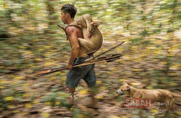 Dünyayı şoke ettiler! Son avcı kabile böyle görüntülendi