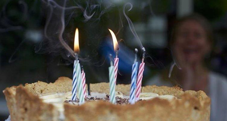 Doğum günü pastanızı üflemeyin!