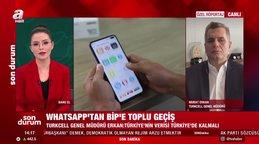 WhatsApp'tan BİP'e toplu geçiş! Turkcell Genel Müdürü Murat Erkan A Haber'de değerlendirdi   Video