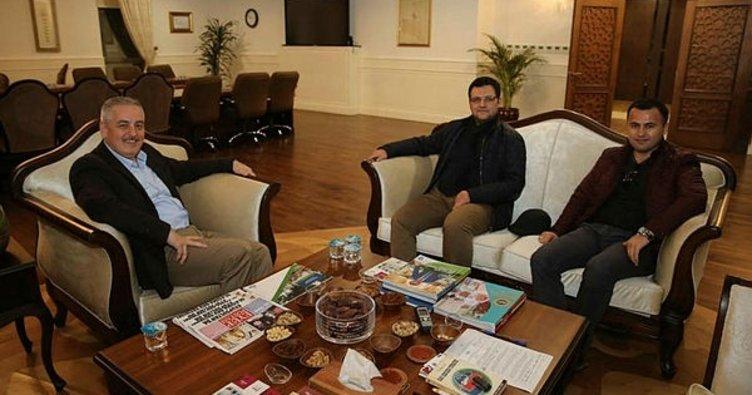 Kardeş Belediye Gürpınar'dan Eyüpsultan'a ziyaret