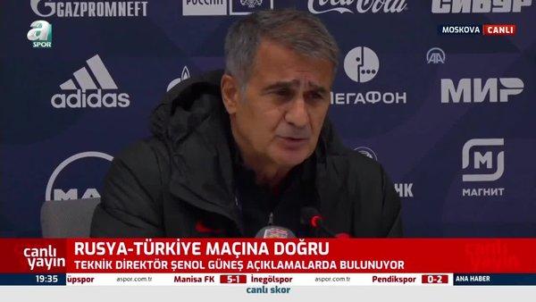 A Milli Futbol Takımı Teknik Direktörü Şenol Güneş: Sosyal medyayı kaldırmayı düşünüyoruz