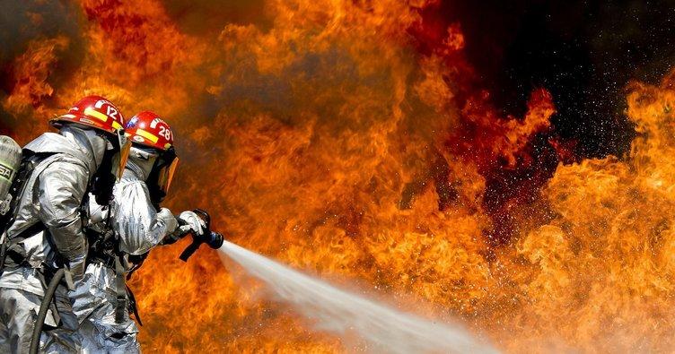 Güney Afrika'da büyük yangın