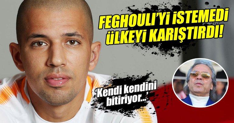 Feghouli'yi almamıştı, şimdi görevi tehlikede!