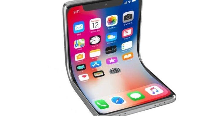 Apple'dan katlanabilir iPhone geliyor!