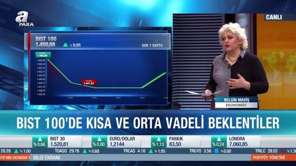 Ekonomist Belgin Maviş: Borsa İstanbul'da 1465 geçilirse hareket güç kazanır