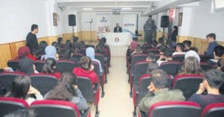 Başkan Ercan gençleri bizzat dinliyor