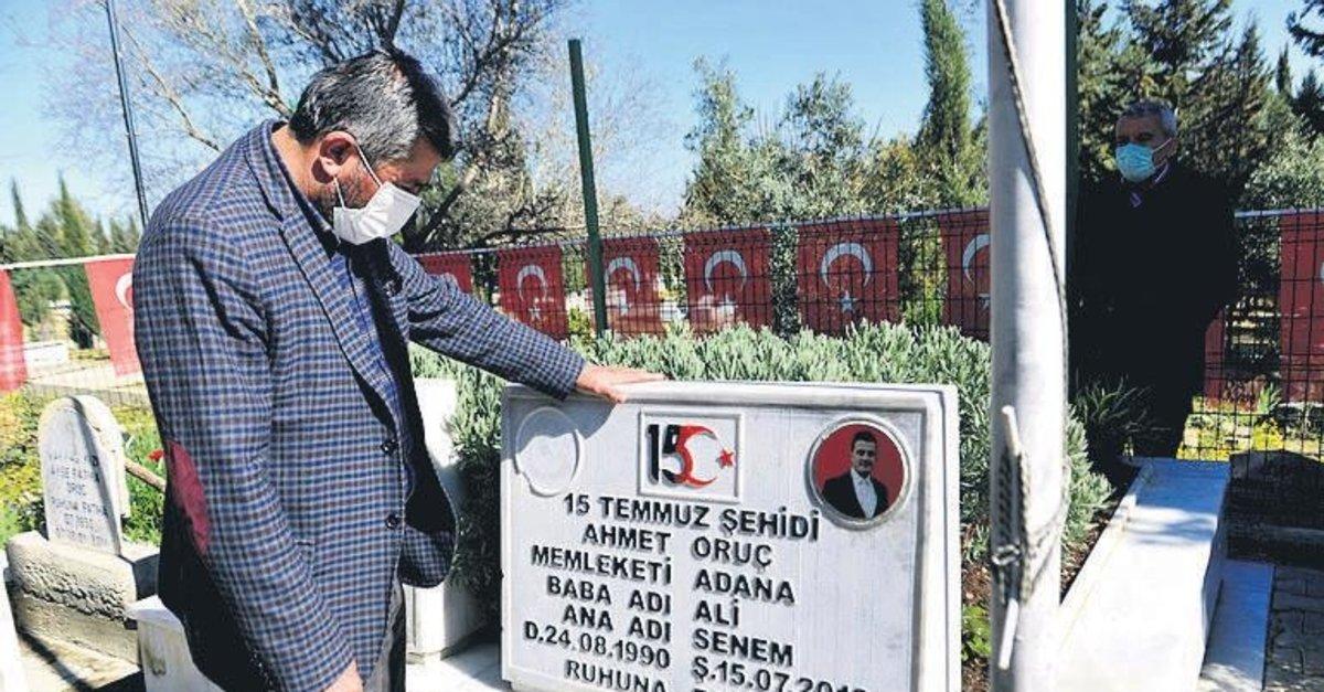 Şehit ikiz polislerin mezarları onarıldı