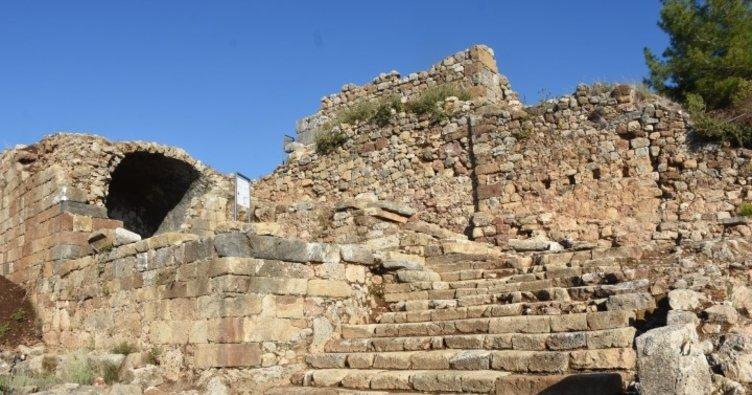 Alanya'daki Syedra Antik Kenti gün yüzüne çıkarılıyor