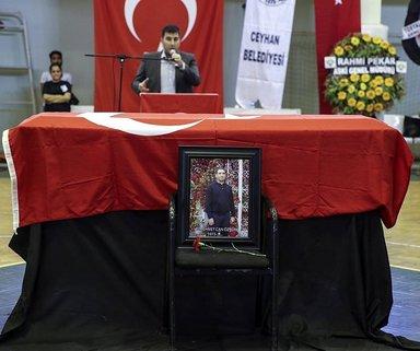 Mehmet Can Öztürk, törenle uğurlandı...