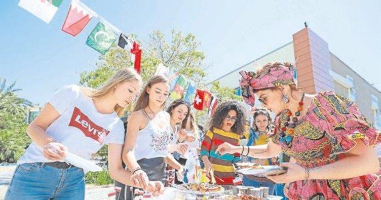 Farklı kültürlerın renklı buluşması