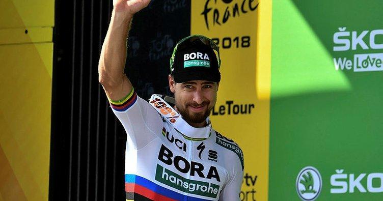 Fransa Bisiklet Turu'nda beşinci etabın galibi Peter Sagan