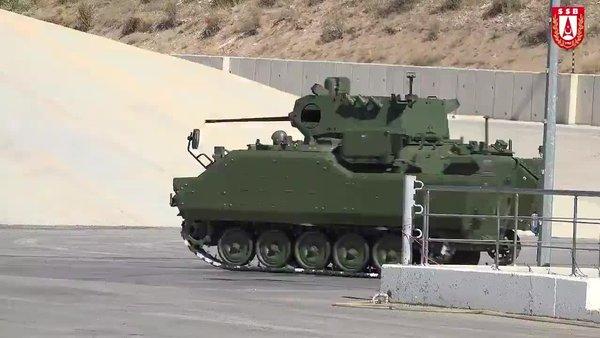 Zırhlı Muharebe Aracı'nın (ZMA) ilk prototip modernizasyonu tamamlandı | Video