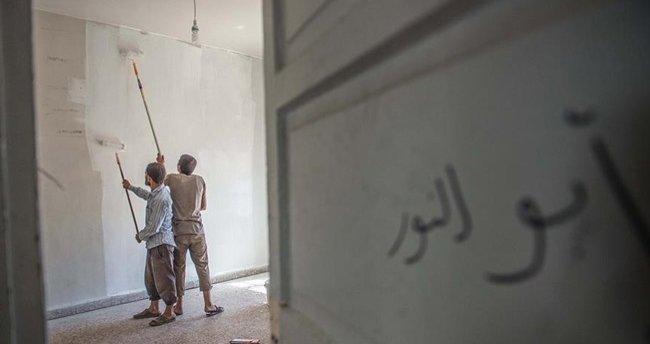 DAEŞ okula bile bomba yerleştirmiş