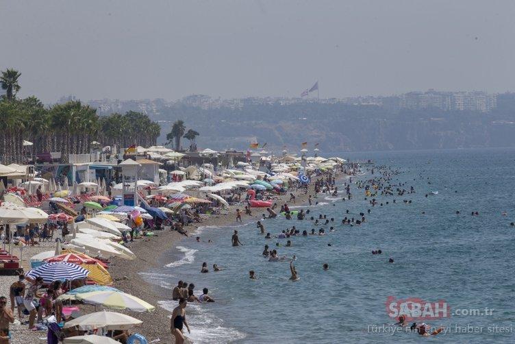 Yüzde 75 olarak ölçüldü! Vatandaşlar sahile koştu